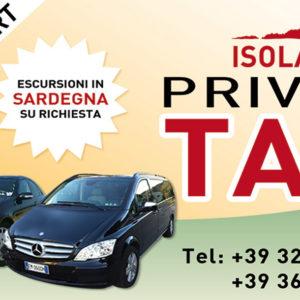 Private Taxi Isola Rossa